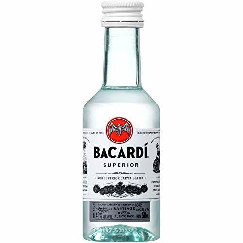 Botellita Miniatura Ron Bacardi 5cl