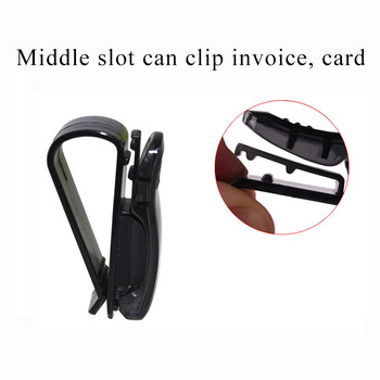 1Pc Auto Car glasses folder Paper clip For Toyota C-Hr Corolla Seat Leon Ford Focus 2 Fiesta Ranger Mazda 3 6 CX-5 image