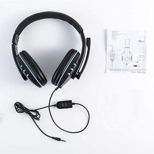 Image 5 - Cuffie Stereo da gioco per Xbox one PS4 PC cuffie da gioco Over Head cablate da 3.5mm con microfono controllo del Volume gioco auricolare