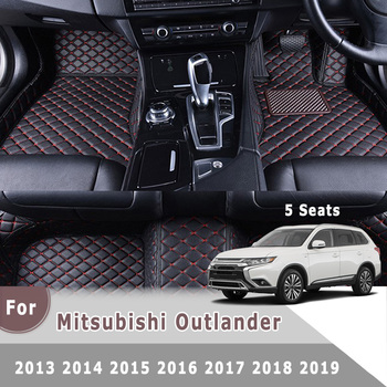 цены Car Interior Accessories Right Hand Drive RHD Car Floor Mat For Mitsubishi Outlander 5 Seats 2013 2014 2015 2016 2017 2018 2019