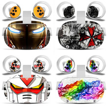 Skin Sticker for Oculus Quest 2 VR Headset Virtual Reality Cartoon Decals Protetcive PVC Skin for Oculus Quest 2 Accessories