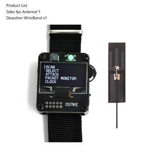 Image 2 - Dstike wi fi deauther relógio esp8266 placa de desenvolvimento