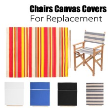 De alta calidad cubierta para sillas plegables para cambiar de asiento y silla clásica silla Vintage cubierta de lona 20X40X5cm Dropship #2335