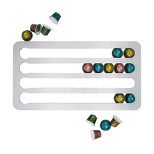 Shelves Stand Capsule-Holder Nespresso Coffee-Pod Rack Pods-Storage for Tower Rotatable