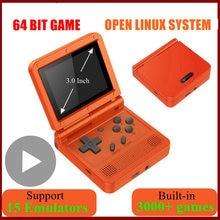 Портативная портативная ретро консоль для видеоигр powkiddy