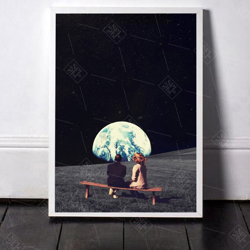 Night-Sky-Art-Prints-Earth-Canvas-Posters-Surrealism-Galaxy-Space-Moon-Canvas-Painting-Swing-Cosmic-Wall (1)