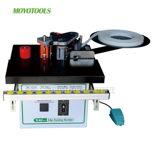Image 3 - New type MY05/MY06 manual mini edge banding machine with cut pvc automatic woodworking edge bander