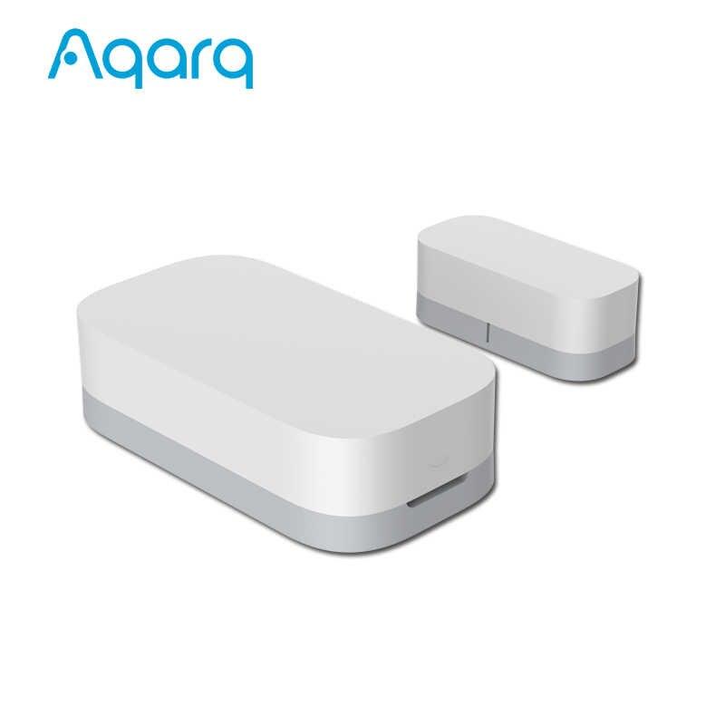 Aqara kapı pencere sensörü kapı mıknatısı ZigBee kablosuz bağlantı ile çalışmak HomeKit MIJIA APP ev güvenlik için Xiaomi gelen Youpin