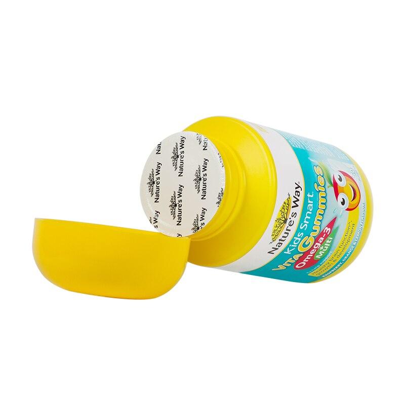 Australia Nature's Way Kids Smart Vita Gummies Omega-3 + Multivitamins 3