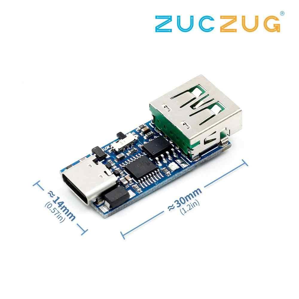 PD decoy module PD23.0 à DC activation vieillissement mesure usine QC4.0 charge notebook 9V 12V 15V 20V