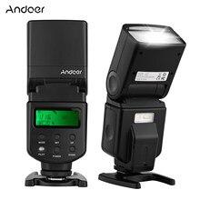 Andoer ad-560 ii câmera flash speedlite com ajustável led luz de preenchimento universal flash para canon nikon olympus pentax câmeras