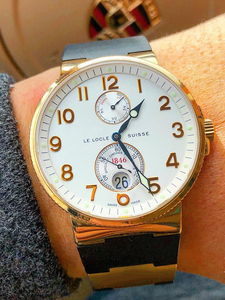 Image 4 - רצועת השעון צמיד סיליקה ג ל שעון להקת ליוליסס Nardin הימי עמיד למים גומי שעון רצועת ספורט 25*12mm גבר שעונים ספורט