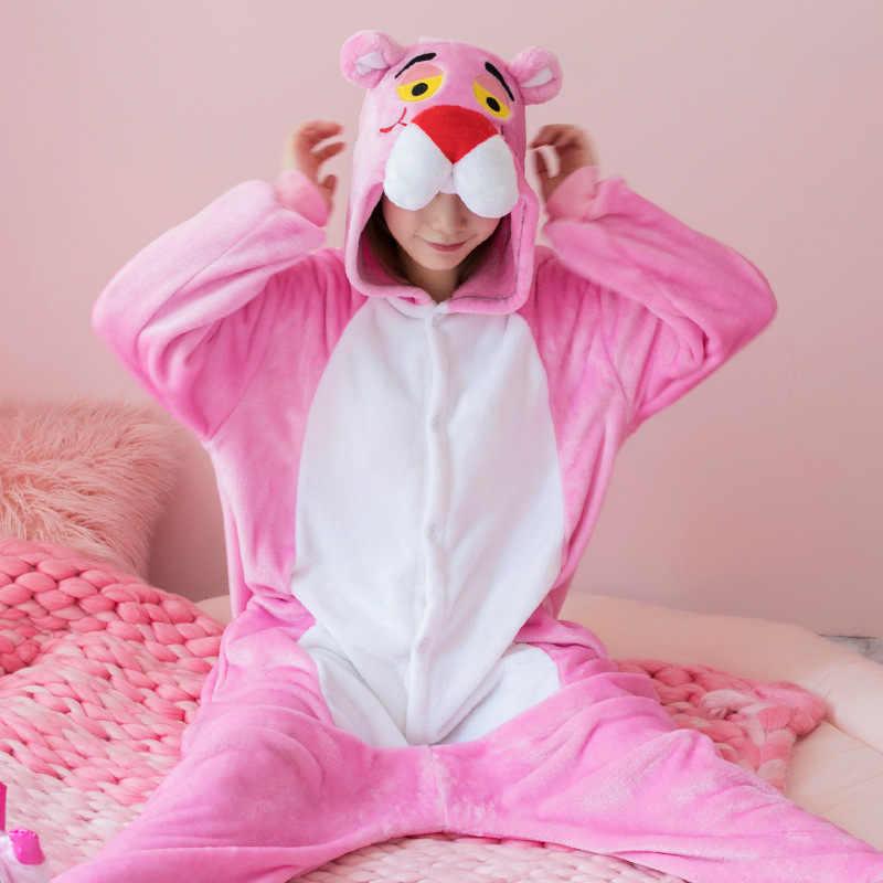 Halloween Costume del Anime di Cosplay Kigurumi unicorno Punto Tute monopezzo Spider man Tuta calda Con Cappuccio Pigiama Per Le Donne I Bambini Degli Uomini