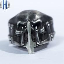 Original Design Handmade Silver Crazy Max925 Ring Personality Skull