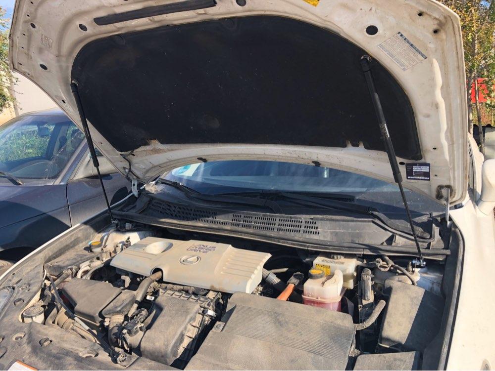HLLebw for Lexus CT200h 2011-2017 Lift Support Shock Damper Car Styling Front Hood Bonnet Modify Gas Struts Absorber Carbon Fiber