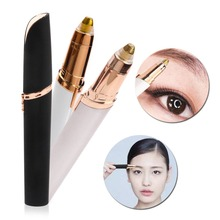 Electric Face Brows Hair Remover Epilator six corcul Mini Eyebrow Shaver Instant Painless Portable Epilator Dropshipping dfdf