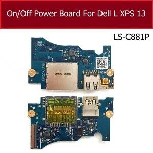 Оригинальная плата питания вкл./выкл., для DELL XPS 13 9343 9350, USB плата и sd-карта, интерфейс, плата с разъемом для подключения к разъему, запасные час...