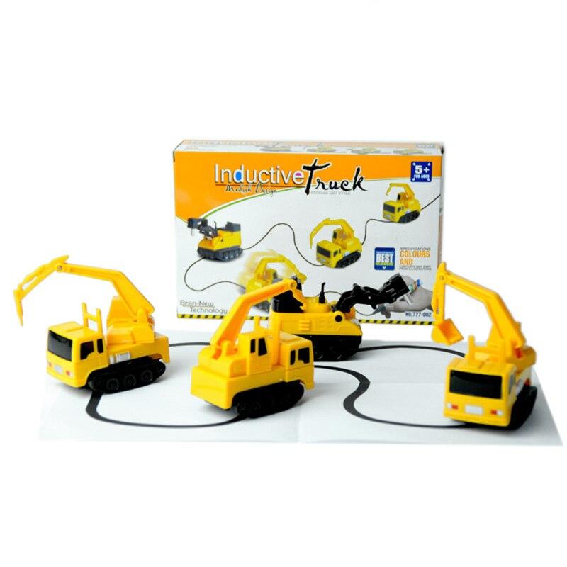 Brinquedo mágico scribing indução carro criança brinquedo de indução caneta desenho linha pista indução brinquedo com caixa embalagem