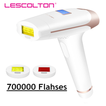 Depiladora permanente IPL, depilación láser indolora, dispositivo de depilación con luz de pulso para el hogar, fotodepiladora Facial, axilas, extremidades, Bikini