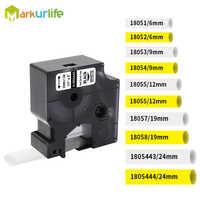 Compatível para dymo tubos de psiquiatra de calor industrial 18051 18052 18053 18054 18055 18056 18057 18058 para dymo rhino 4200 etiqueta fabricante