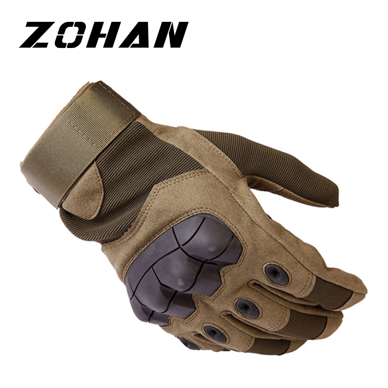 Tactical Military Gloves Knuckle Hard Gloves Hunting Men Outdoor Winter Touch Screen Shooting Bicycle Airsoft Combat Gloves