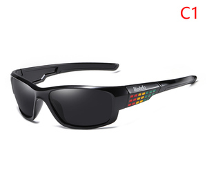 Image 4 - Viahda marca design novo polarizado óculos de sol dos homens moda masculina óculos de sol óculos de viagem pesca oculos com caixa