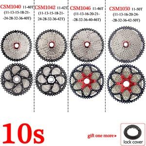 Image 4 - BOLANY Cassette de bicicleta de montaña 8s, 9s, 10s, 11 velocidades, piezas de bicicleta de montaña, Piñón 11 40/42/46/50T, desviador compatible con Shimano/SRAM