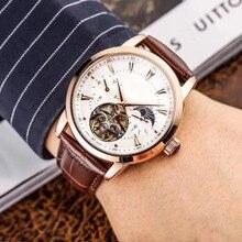 WG1063 мужские часы Топ бренд подиум роскошный европейский дизайн автоматические механические часы