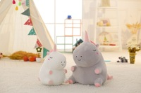 Cartoon Creative Cute Software down Cotton Chubby Unicorn Doll Plush Pillow Christmas Spring Festival