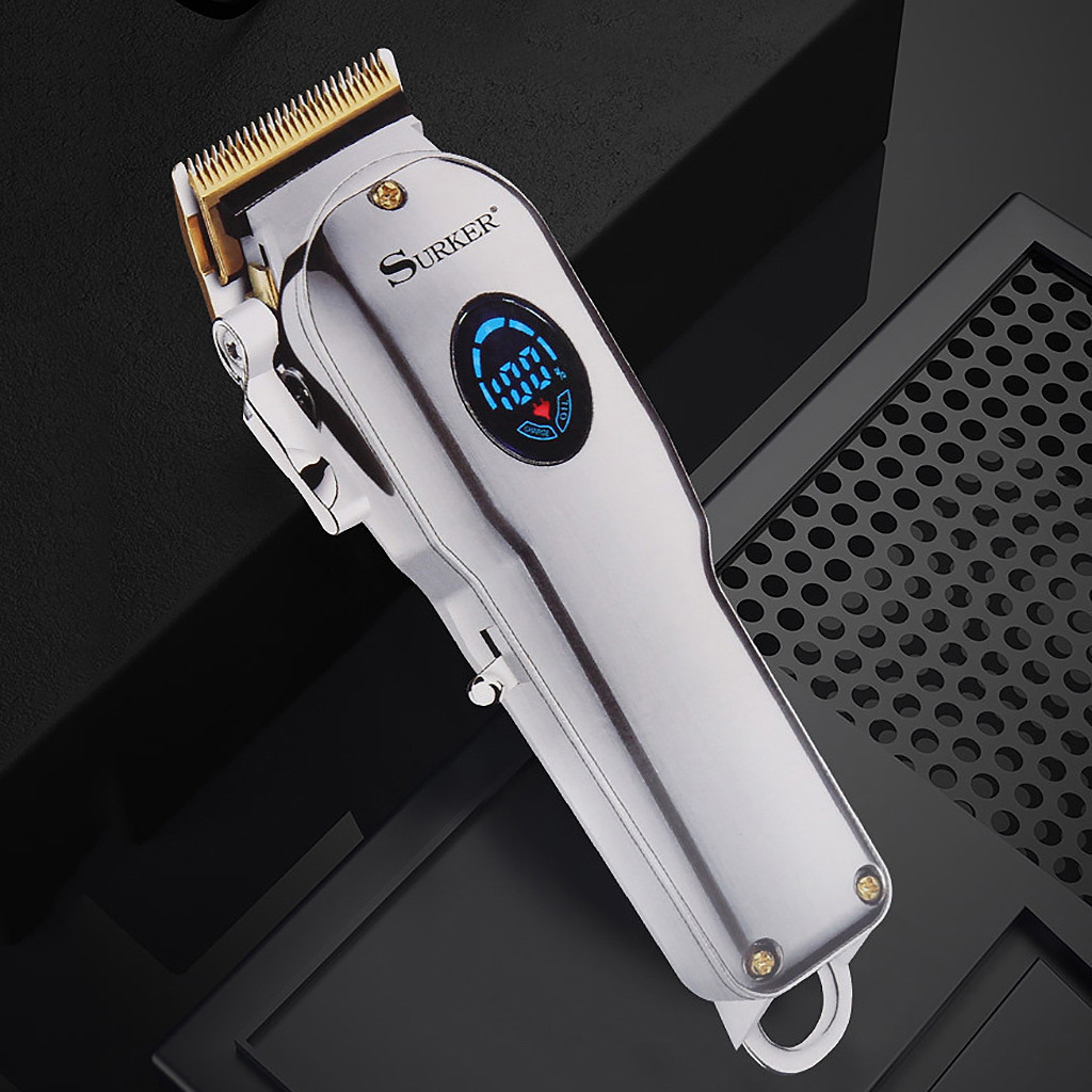 Dryer - Surker™ Professional Electric USB Rechargeable Barber Quality Best Wahl Alternative Hair and Beard Trimmer Clipper