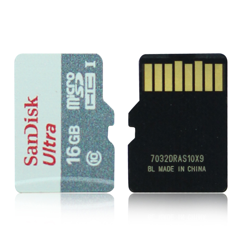 SanDisk TF Card 16G High Speed C10 Child Camera Monitor Driving Recorder Memory Card MicroSD Small Card