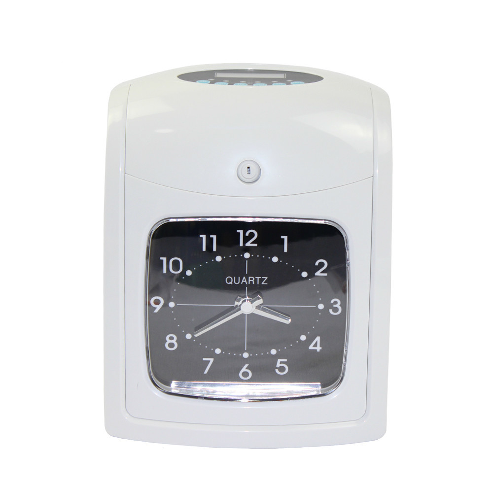 Time Attendance System Clock Recorder Dual color Printing Electronic Employee Time Clock Recorder Attendance Time Card Machine|Time Recording| |  - title=