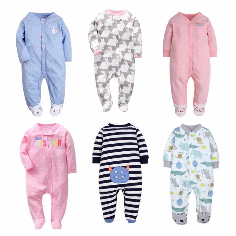 Orangemom marca de verano Pelele de bebé para primavera pijamas de algodón 100% de manga larga con dibujos animados para bebés recién nacidos niñas ropa para niños