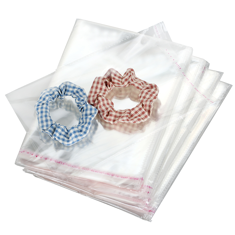 Transparent Thick Self Adhesive Bag Clear Package Storage Bags Small Plastic Self Sealing Cellophane Packing Poly Bags