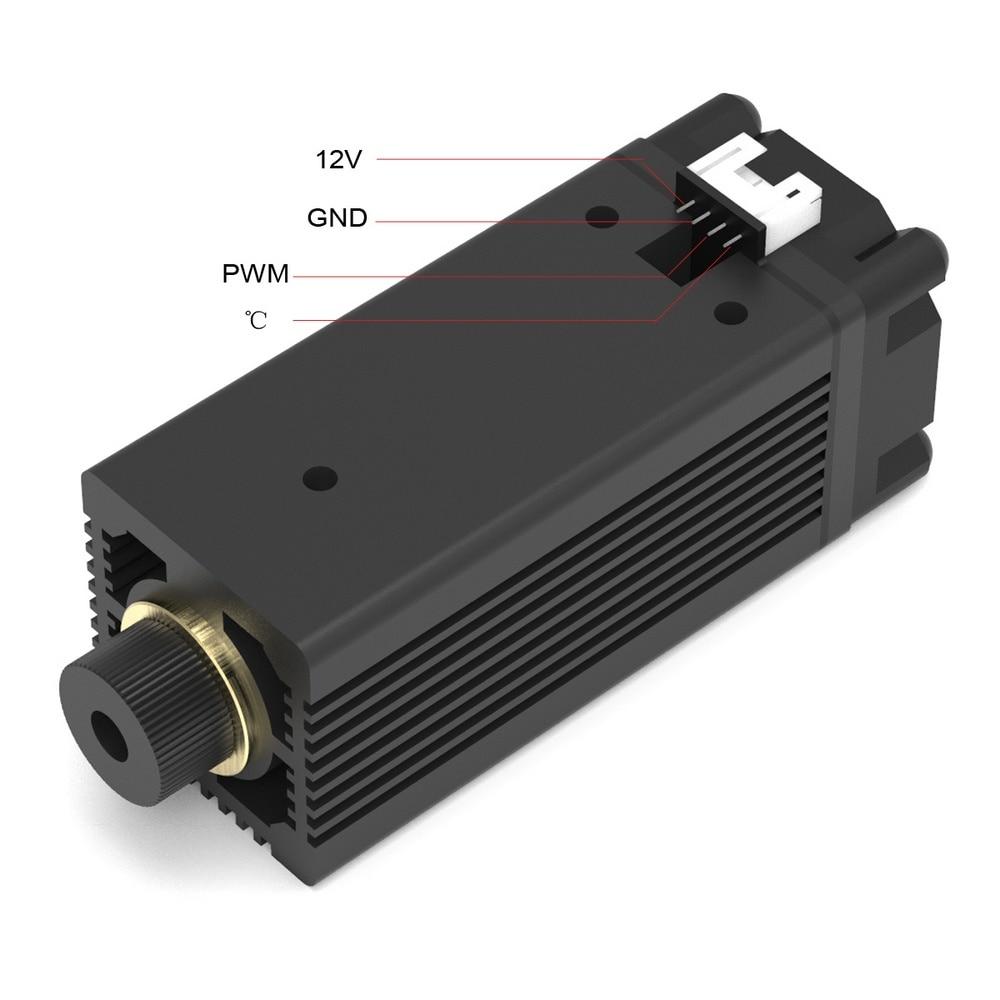 1500MW 3000MW 3500MW 7W Fiber głowica laserowa moduł rury dla Mini Slot Machine Cut grawer akcesoria narzędzia DIY moduł laserowy głowy