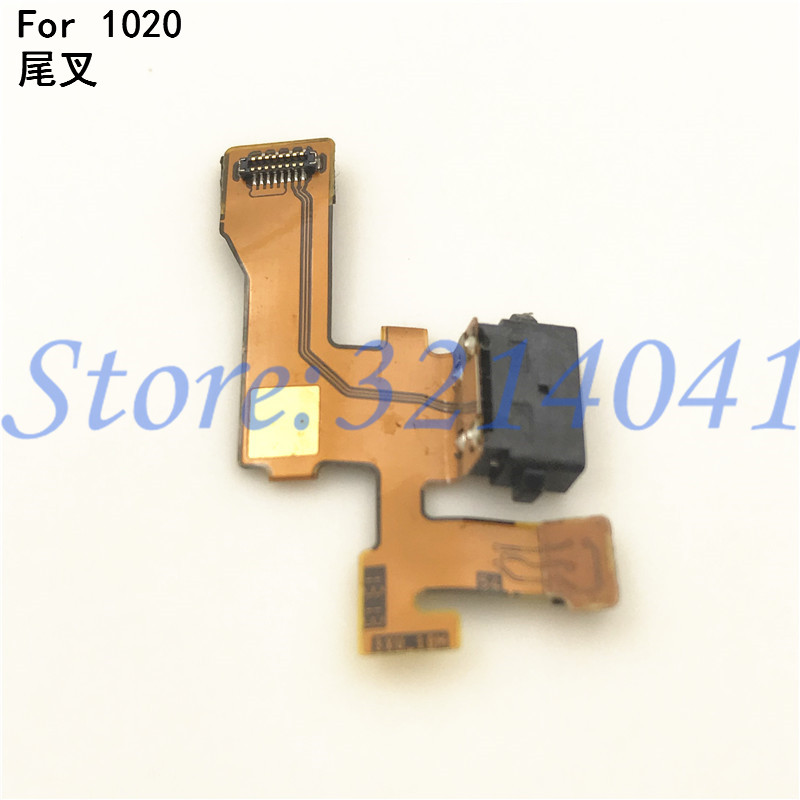 Original Micro <font><b>USB</b></font> Connector Microphone Charging <font><b>Port</b></font> Flex Cable For <font><b>Nokia</b></font> <font><b>Lumia</b></font> <font><b>1020</b></font> image