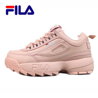 FILA Disruptor II Women Pink Running Shoes Sports Shoes Non Slip Damping summer Outdoor