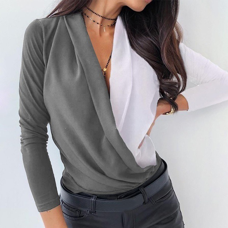 camisa casual ms. grávida topo