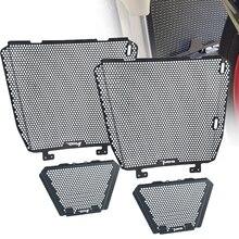 Couvercle de protection de calandre de moto, refroidisseur dhuile, pour Aprilia RSV4 1000 APRC RF Tuono V4 1100 RR, usine