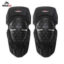 WOSAWE Motorcycle Knee Pads Motocross Riding Knee Protector Shin Brace Protective Guard Knee Protective Gear Sport Knee Guard