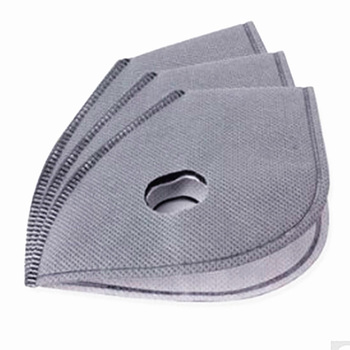 10/20/50/100pcs Cycling Face Masks Filter MTB Road Cycling Equip Anti-Dust PM2.5 Replacement With Active Carbon Filter Protect