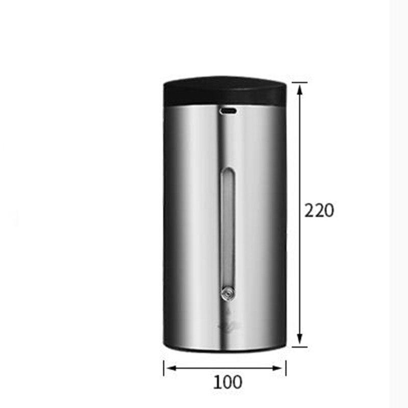 Badkamer 304 SS Materiaal automatische sensor Zeepdispenser Vloeibare Douche Shampoo dispensoer Wandmontage hotel producten - 5
