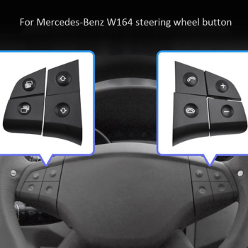 Car Multifunction Audio Steering wheel covers Button for Mercedes-Benz W164 GL ML 2006-2009 204 905 29 05 2049052905 wheel speed sensor for mercedes benz