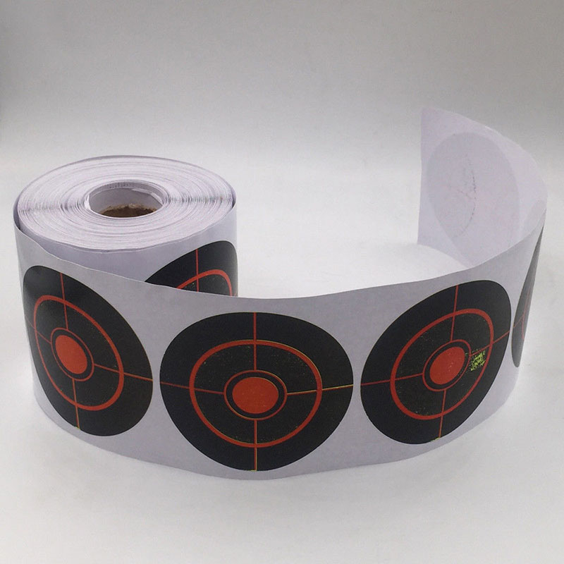7.5cm Roll Splatter Shooting Target Stickers Self Adhesive Archery Practice Tool