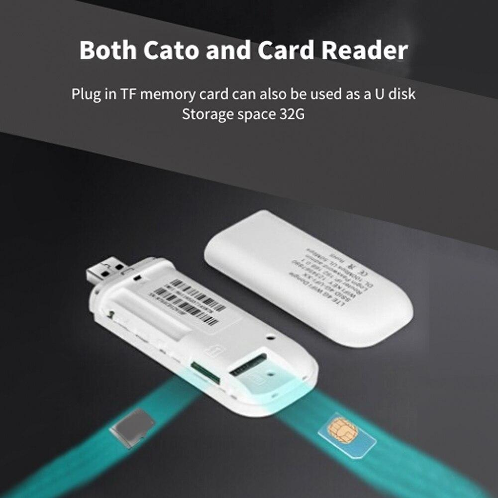 Uniwersalny 4G LTE modem usb adapter sieci z hotspot wifi karty SIM 4G router bezprzewodowy dla win xp Vista 7/10 Mac 10.4 z systemem IOS