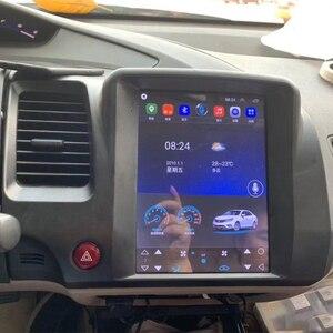 Image 5 - 테슬라 화면 혼다 시빅 2006 2007 2008 2011 자동차 안드로이드 멀티미디어 플레이어 10.4 인치 자동차 라디오 스테레오 오디오 GPS 네비게이션