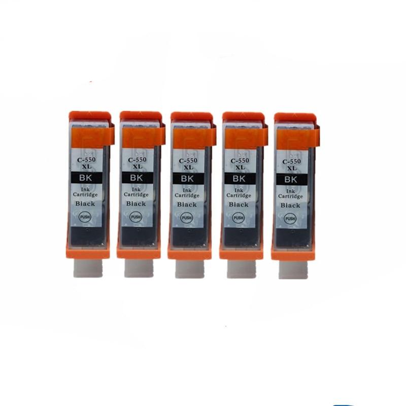 PGI-550 PGI-550XL PGI 550 CLI-551 чернильные картриджи для Canon Pixma MG5450 MG5550 MG6350 MG6450 MG7150 IP7250 струйный принтер