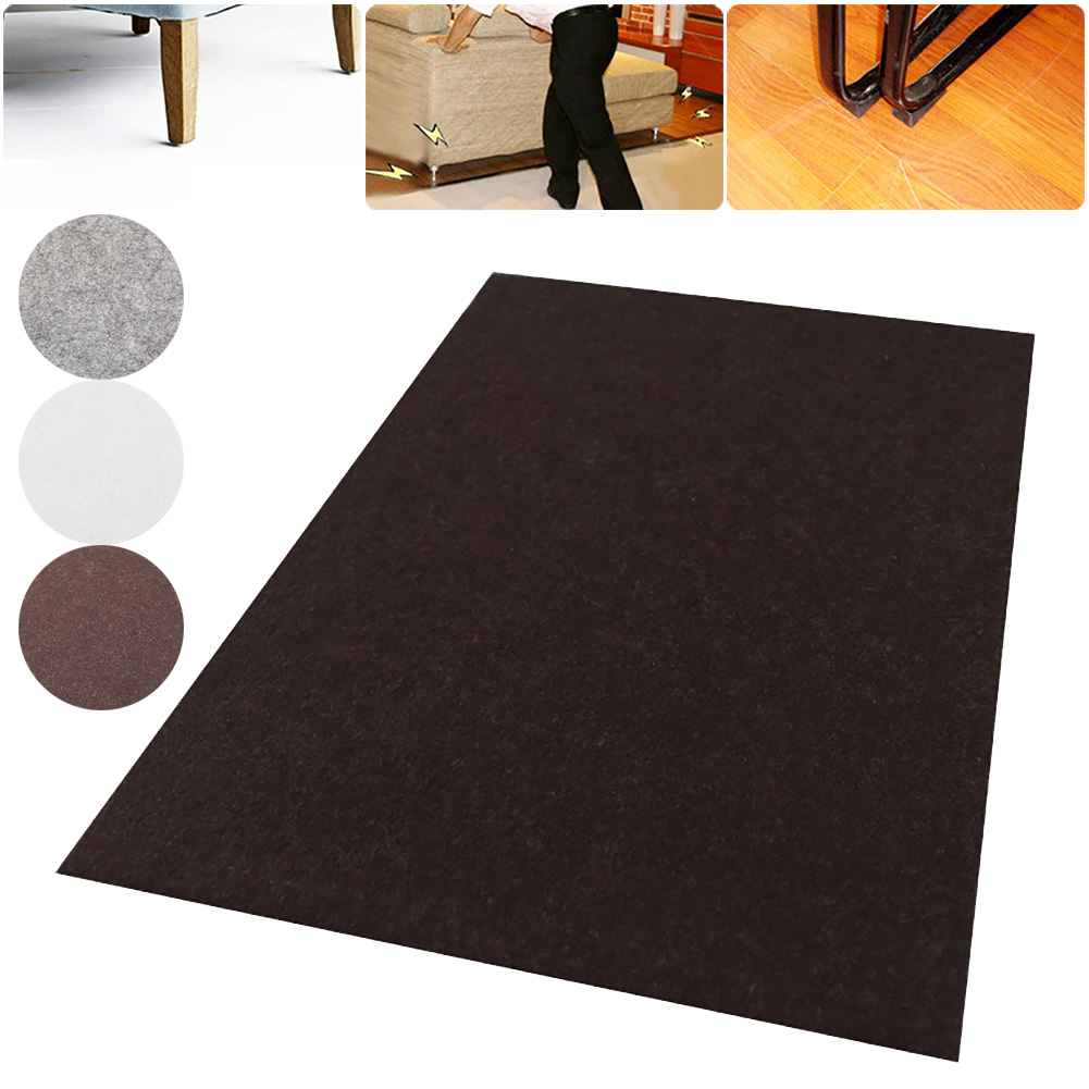 4 Colors 1pcs 30x21cm Self Adhesive Square Felt Pads Furniture Floor Scratch Protector DIY Furniture Accessories For Home