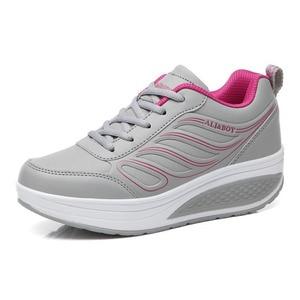 Image 3 - كاوكوم بالجملة أسود المرأة أحذية رياضية المرأة وسادة هوائية سميكة القاع الاحذية حذاء كاجوال أحذية منصة CYL