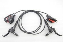 Shimano Deore XT M8000 zestaw hydraulicznych hamulców tarczowych dźwignia hamulca + M8000 hydrauliczny hamulec tarczowy Black ICE technologii i żywica metalowe podkładki
